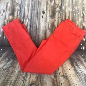NYDJ Sheri Skinny Jeans in Rouge Sz 12